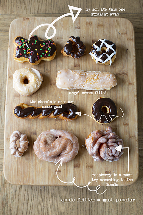 glazed and dazed donuts